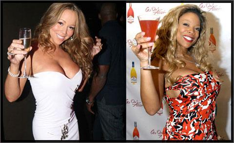 Mariah Carey and Whitney Williams