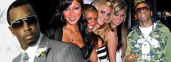 Diddy, Pussycat Dolls and Lil Wayne