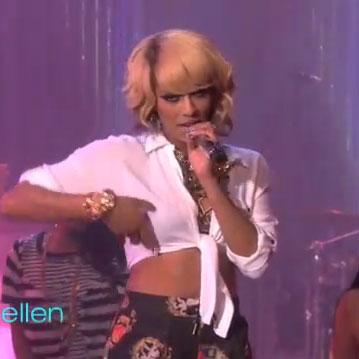 "Keri Hilson performs ""Pretty Girl Rock"" Live on The Ellen Show"