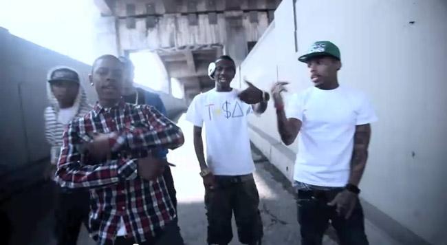 The Rangers feat. Soulja Boy & Kid Ink – Touchdown Music Video