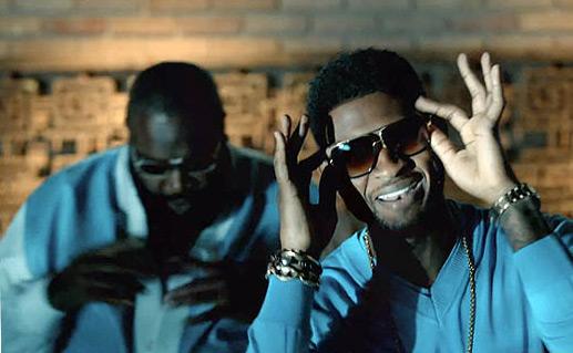 Usher feat. Rick Ross – Lemme See Music Video