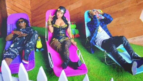 "Young Money – Tyga, Nicki Minaj & Lil' Wayne – ""Senile"" Music Video"